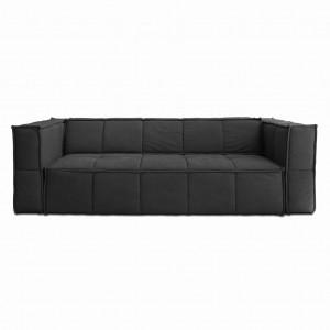 Sofa w kolorze charcoal black HK Living