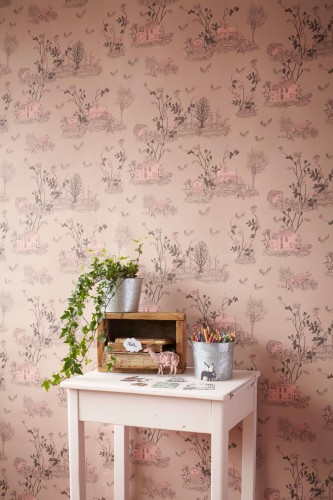 Woodlands Brown Pink Wallpaper 3 - Sian Zeng.jpg